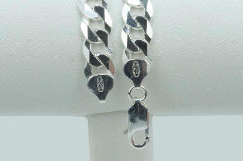 Conjunto Corrente 70cm E Pulseira Grumet 9mm Prata 925