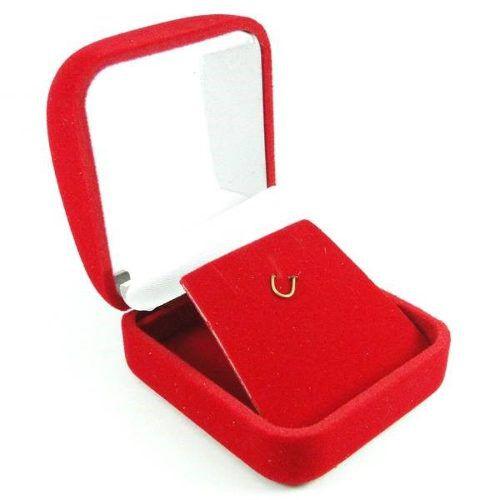 Kit 3 Brincos Cálice Ponto de Luz De Ouro 18k  Zircônia 3mm, 4mm E 6mm