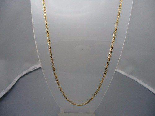 Corrente Cordão Elos Grumet 3 X 1 60cm Em Ouro 18k 750
