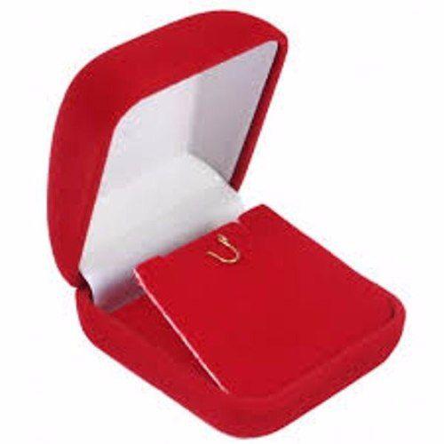 Corrente Colar Singapura 40cm Pingente Coração Vermelho Rubi Ouro 18K 750