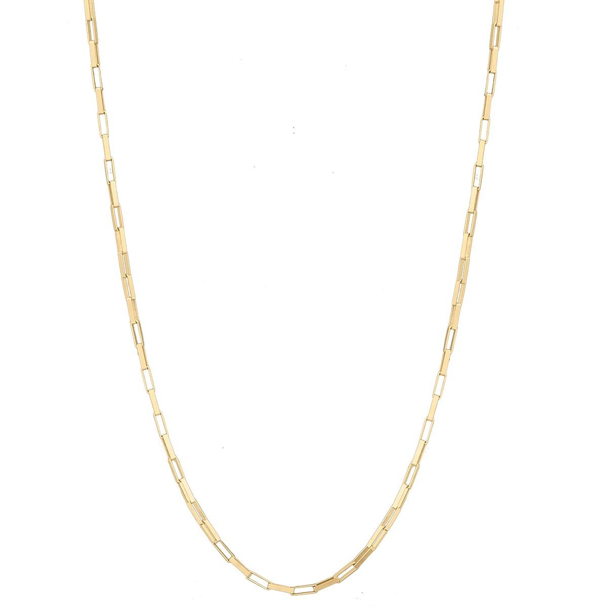 Cordão Corrente Grossa Masculina 60cm 6.3g Ouro 18k 750 Cadeado