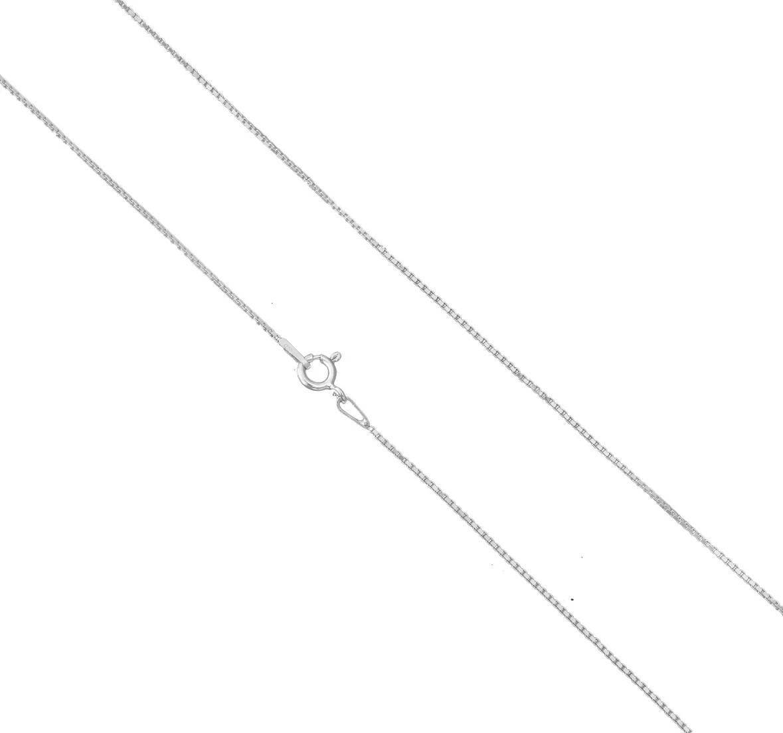 Corrente Colar Veneziana 45cm Prata 925