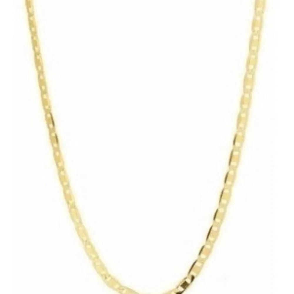 Corrente Cordão Masculino Piastrine Maciça 3.3 Gramas 60cm De Ouro 18k 750