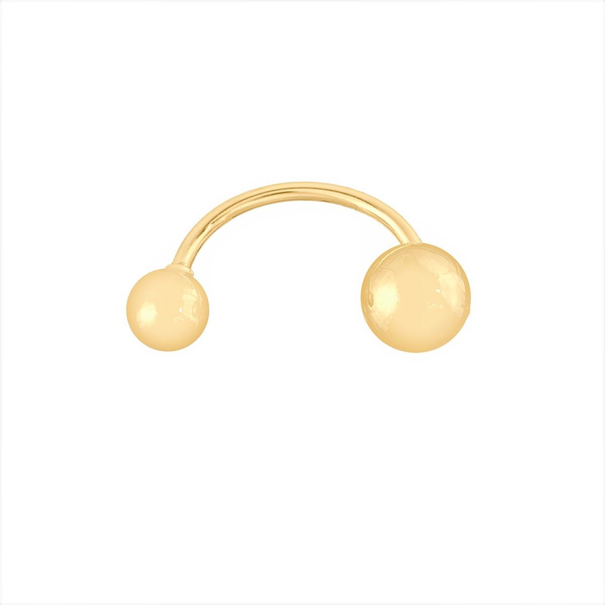 Piercing De Umbigo Em Ouro 18k