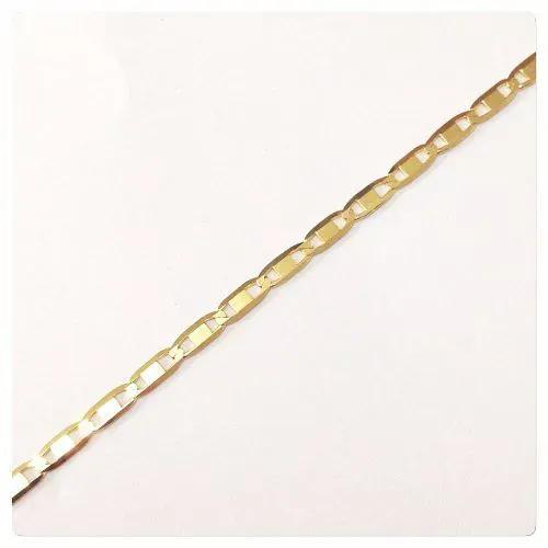 Pulseira Masculina Piastrine Em Ouro 18k 750