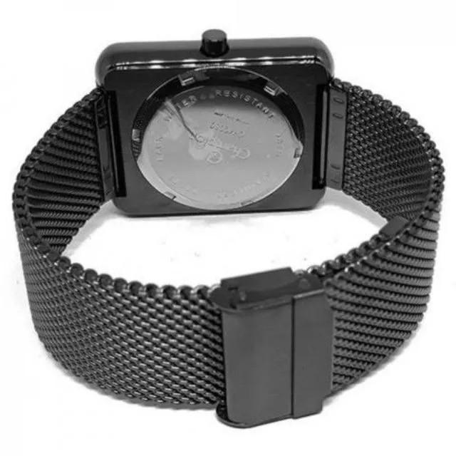 Relógio Champion Feminino Digital Preto Quadrado CH40080D