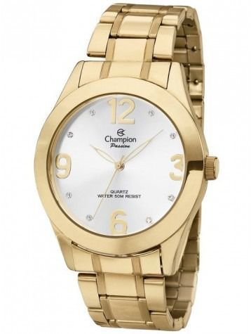 Relógio Feminino Champion Passion Dourado Ch24268h