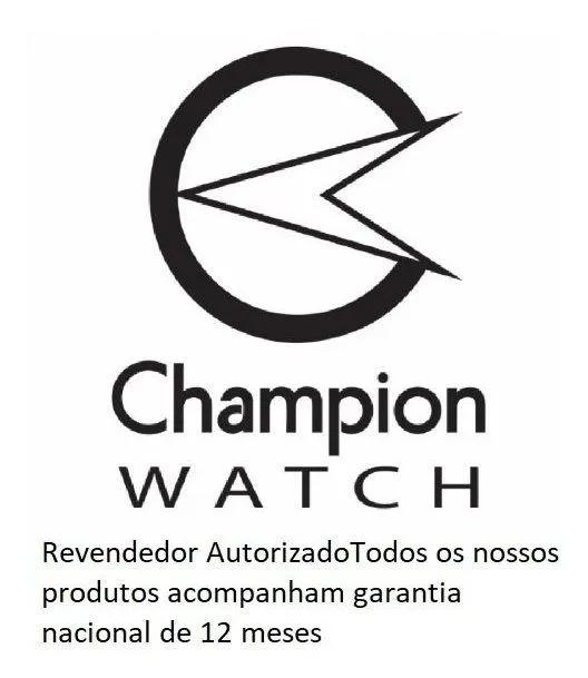 Relógio Champion Led Digital Quadrado Chocolate CH40080O
