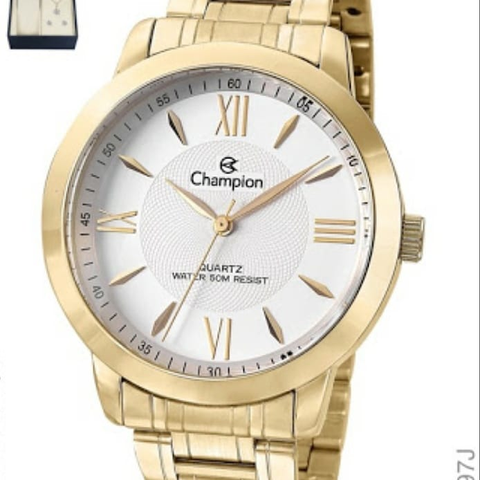 Relógio Feminino Champion Dourado CH24697J