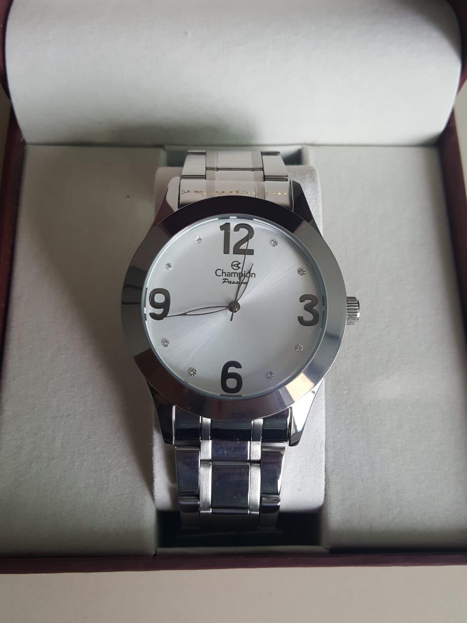 Relógio Feminino Champion Prata CH24268Q