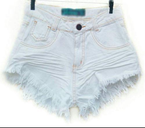 7cc32c4db Kit Lote 2 Short Jeans Cintura Alta Feminino Desfiado - RSL