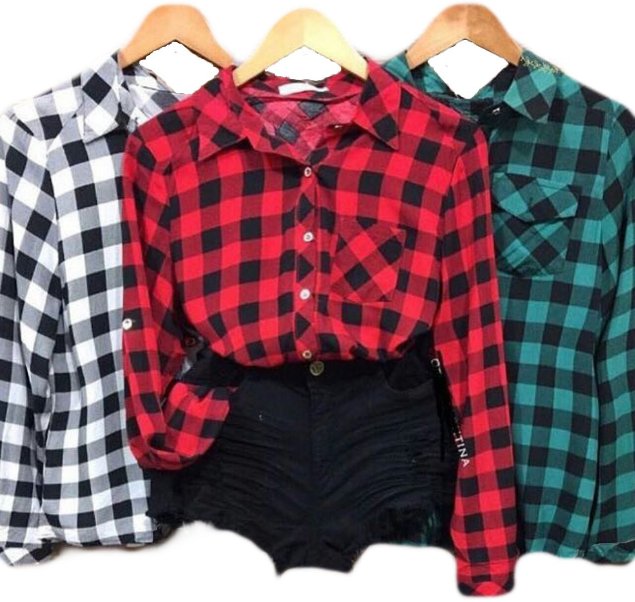 33704f8dc1 Camisa Blusa Xadrez Feminina - RSL