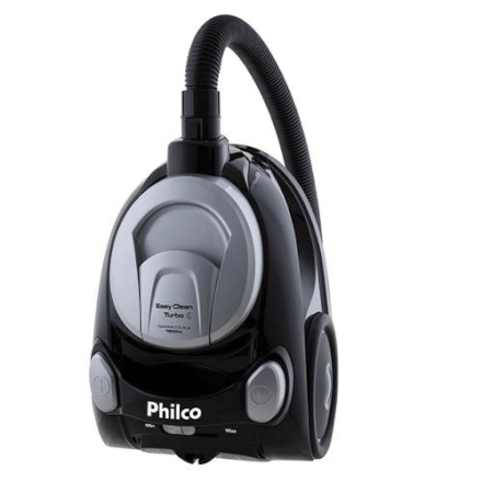 Aspirador de Pó Easy Clean Turbo Preto Philco 127v