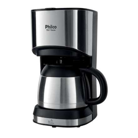 Cafeteira Elétrica Philco 220v Thermo 1L PH41 - Preta