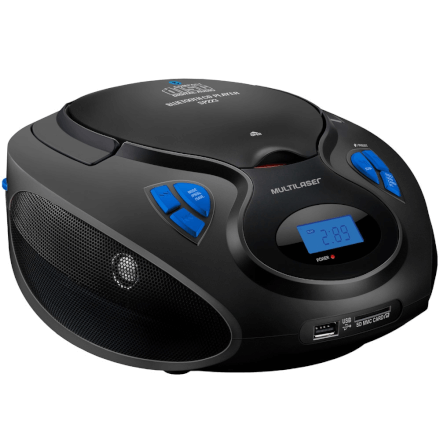 Caixa de Som Bluetooth 20RMS Multilaser - SP223