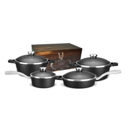 Conjunto de Panelas Alumínio MTA 4 Peças Proteus Gourmet com