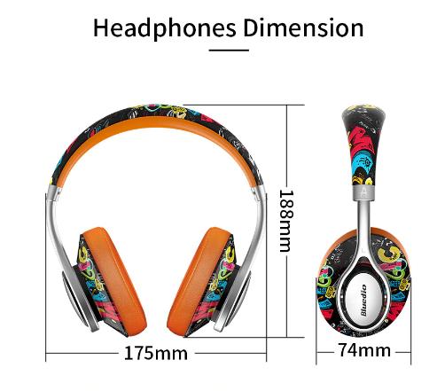 Fone de Ouvido Sem Fio Bluedio Bluetooth A2