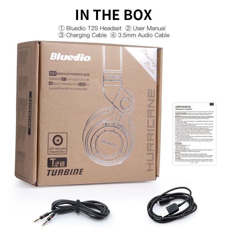 Headphone Bluedio T2+ Bluetooth