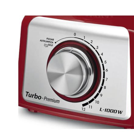 Liquidificador Premium Red 220v Mondial - L-1000