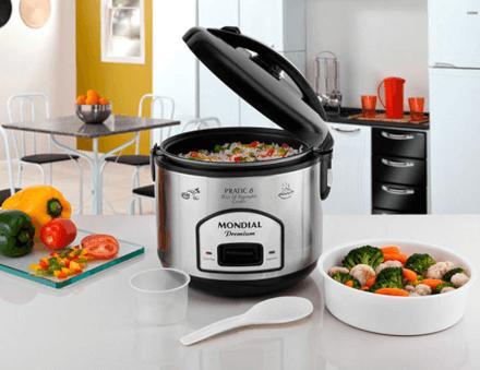 Panela Elétrica Pratic Rice & Vegetables Cooker 6 Premium 11