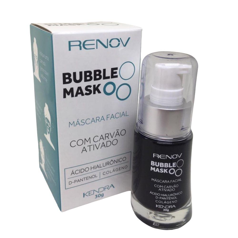 Kit Renov Bubble Mask + 8x1 Gel Serum Facial Absolute