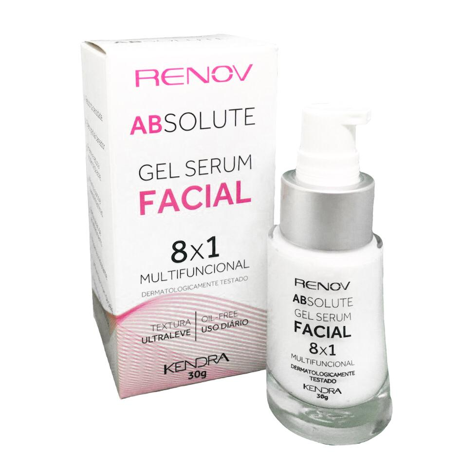 Renov Absolute Gel Serum Facial 8x1 Multifuncional 30g