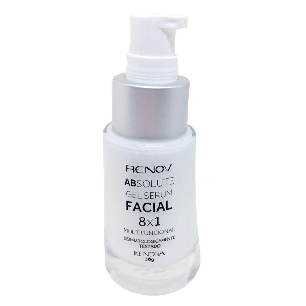 Renov Absolute Gel Serum Facial 8x1 Multifuncional 30g