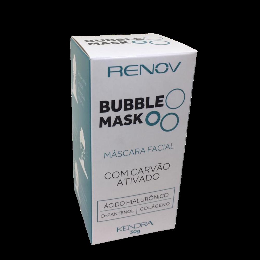 Renov Bubble Mask - Máscara Facial com Carvão Ativado Kendra