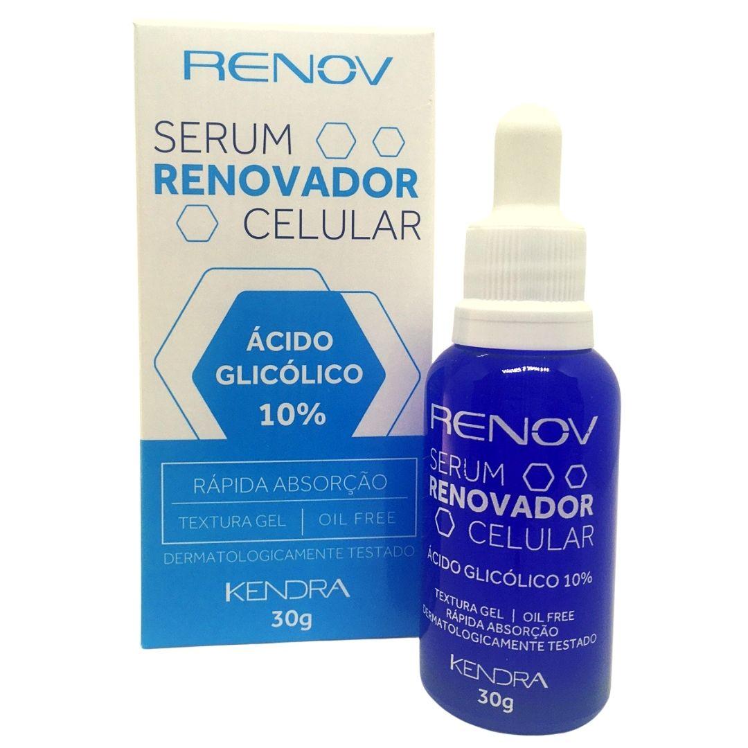 Renov Serum Renovador Celular Kendra 30g e 3 unidades