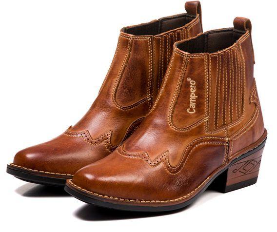 b47bc27997 BOTINA MASCULINA TEXANA COUNTRY COURO NOBRE MARROM 041 - Shop Do Calçado