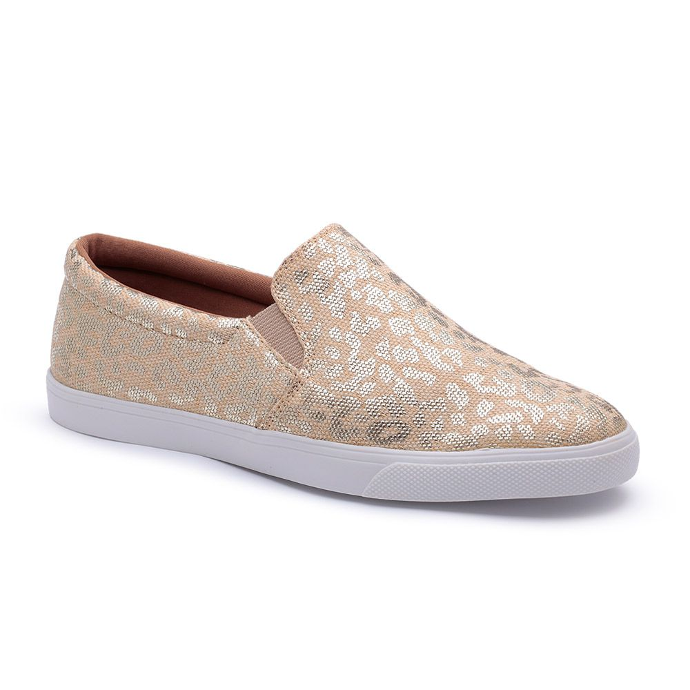 b4612b7b4d TÊNIS SLIP ON TENEHI FASHION FEMININO BEGE 136