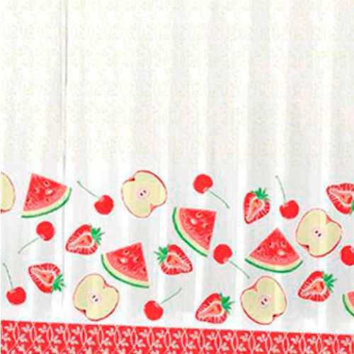 Cortina Para  Cozinha Day By Day Quitanda 200 cm x 120 cm