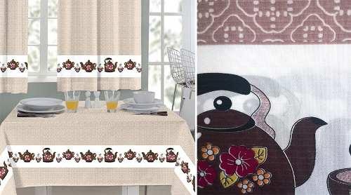 Toalha Para Mesa 1,45 m x 1,40 m Mafalda