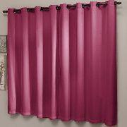 Cortina Sala 2,20 x 2,20 Pink Blackout Liso