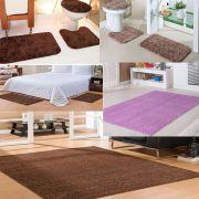 2 Kits Banheiro 1 Kit quarto castor 1 tap 200X300 castor 1 tap 100X150 rosa Classic