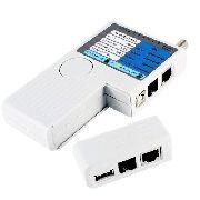 Testador Profissional de Cabo Startech Lan RJ11 RJ45 USB BNC CT-200