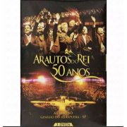 3 Dvds Arautos Do Rei 50 Anos Ao Vivo - Novo Tempo
