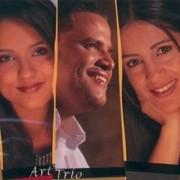 CD Duplo Art Trio Contraste Cantado Playback Novo Tempo