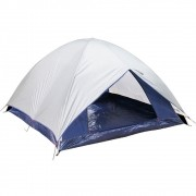 Barraca Iglu Camping com Sobre teto Completo Dome 3 Pessoas