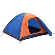 Barraca Iglu Camping Falcon Sobre teto 2 Pessoas Nautika Azul Laranja