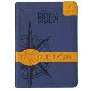 Bíblia dos Desbravadores Capa Emborrachada Azul Nova Versão Internacional CPB