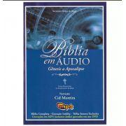 Bíblia Em Áudio Dvd Mp3 - Gênesis A Apocalipse - Cid Moreira
