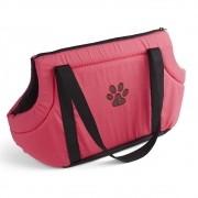 Bolsa para Transporte Pet Rosa Plasvale