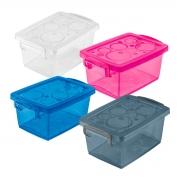 Caixa Organizadora Pequena com Trava 4 litros
