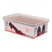 Caixa Organizadora Media Para Sapato Feminino Masculino Organização