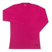 Camiseta Feminina com Proteção Solar UV 50+ Manga Longa Pink Vitho