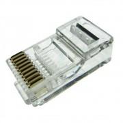 Conector RJ50 10 Vias Modular Plug Macho 10X10