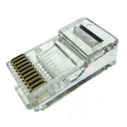 Conector RJ50 Plug Modular 10 Vias 10 x 10 - 50 Unidades