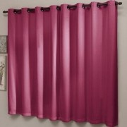 Cortina Blackout Liso PVC 220 x 220 cm Rosa Pink Sultan