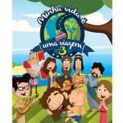 DVD e CD Minha Vida é Uma Viagem 3 Novo Tempo
